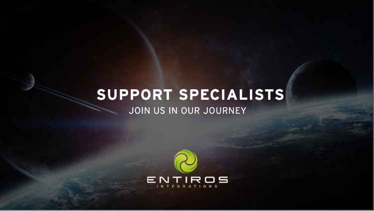 Support Specialists join us