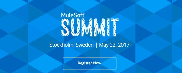 MuleSoft Summit Stockholm 2017