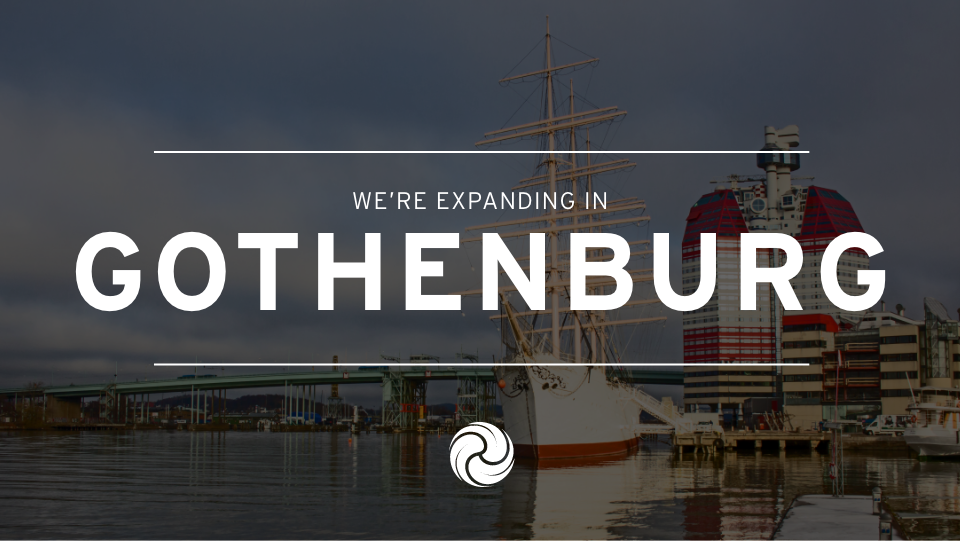 We're expanding in Gothenburg