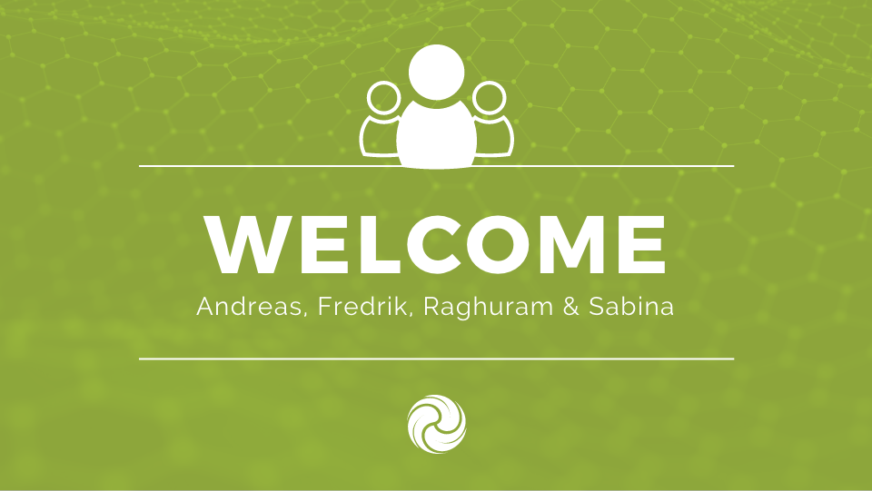 Welcome, new crew members
